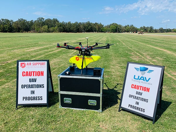 UAV Training Course Set-Up