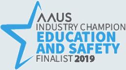 AAUS Industry Champion Education & Safety Finalist 2019 - UAV Training Australia