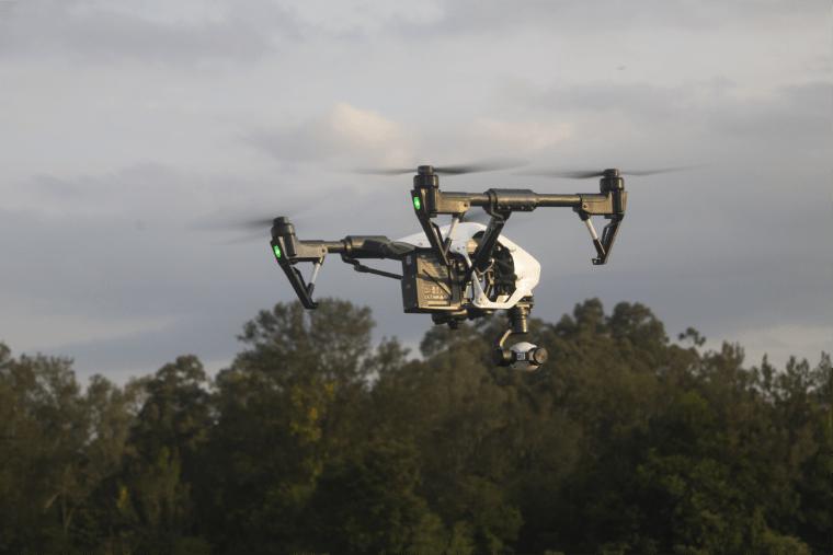 Drone Suveying Agriculturea area - UAV Training Australia