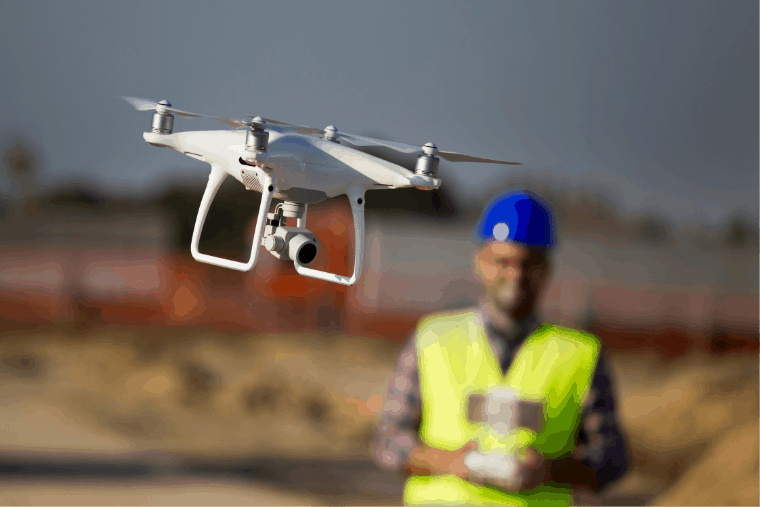 Flyinga drone for surveying - UAV Training Australia