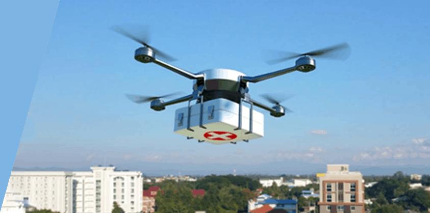 Drones for deliving medical supplies - UAV Training Australia