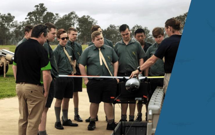 High school drone training - UAV Training Australia