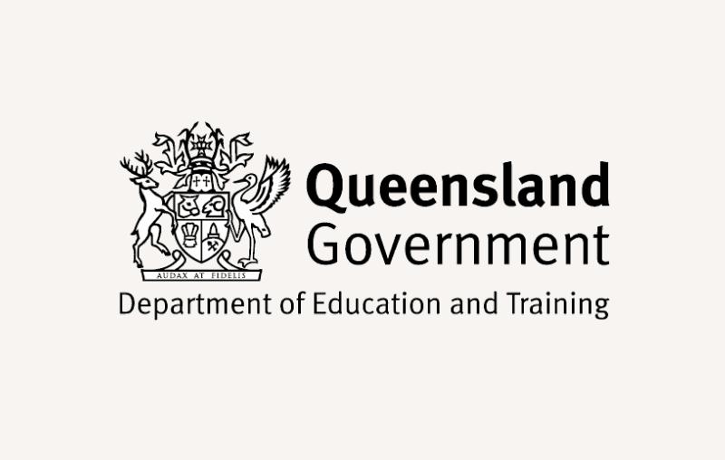 Queensland Government logo - UAV Training Australia